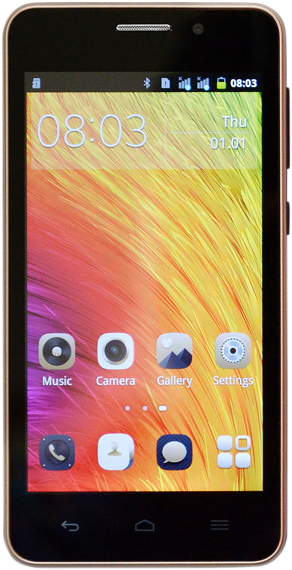 Camerii Ginger (Golden, 4 GB)(1 GB RAM)
