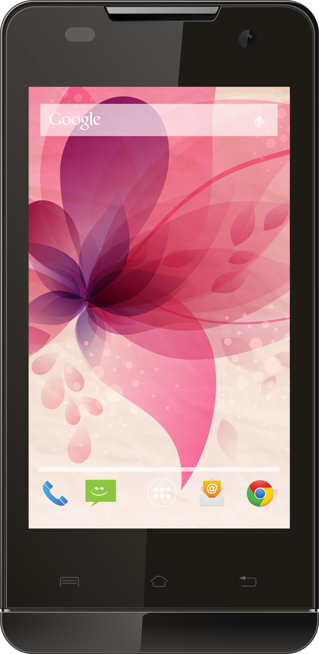 Lava Iris 404Q (Black, 4 GB)(1 GB RAM)