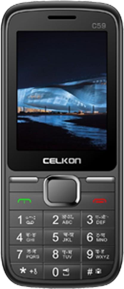 Celkon C59(Grey & Brown)