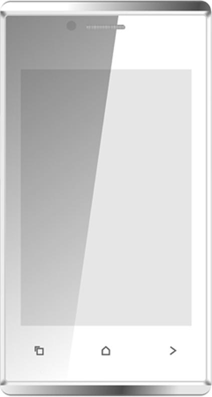Karbonn A202 Dual Sim - White & Silver (White, 512 MB)(256 MB RAM)