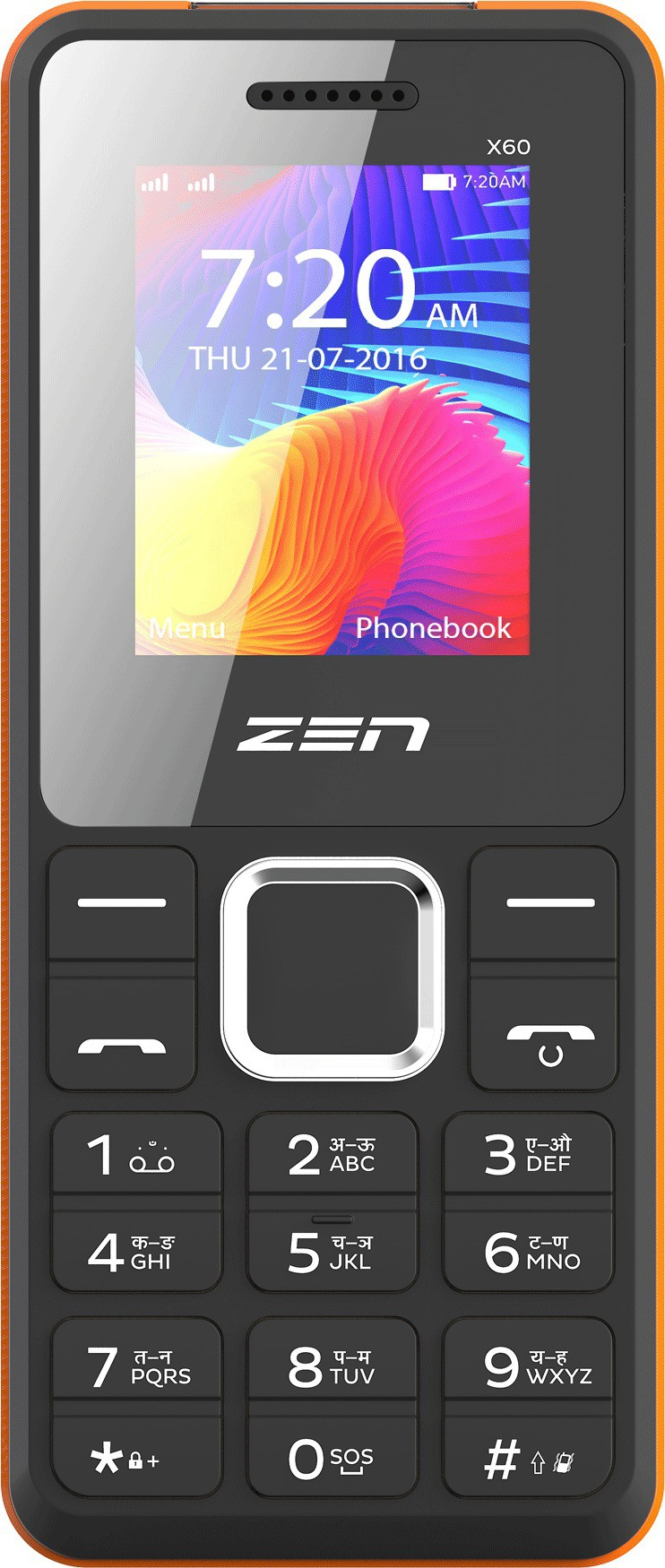 Zen Power 101 X60(Black & Orange)