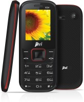 JIVI X84 Without Charger and Hands-free(Black & Red)