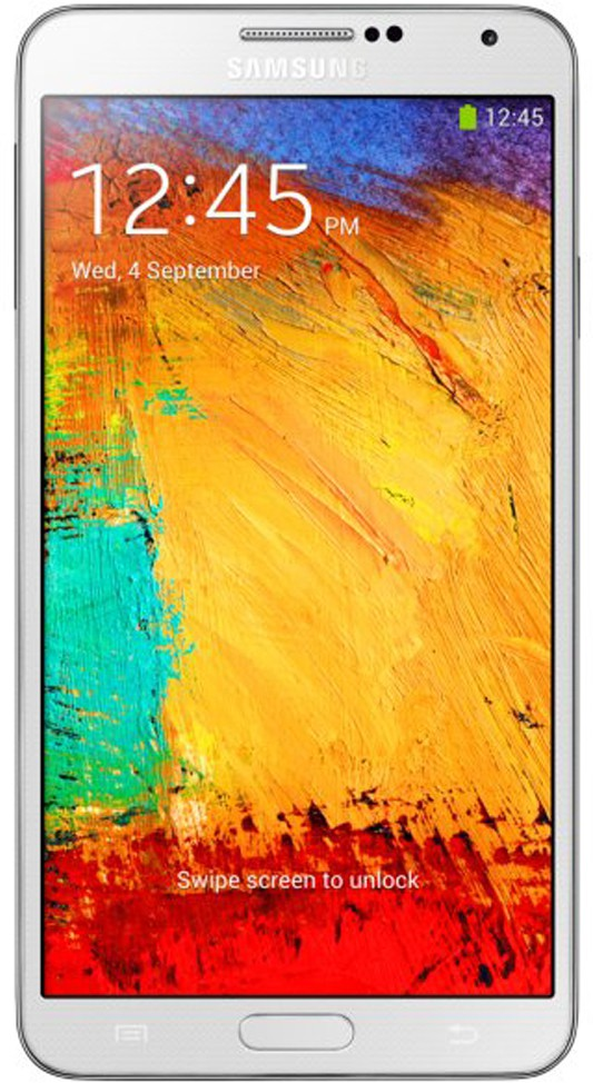 SAMSUNG Galaxy Note III Single Sim - White (White, 32 GB)(3 GB RAM)