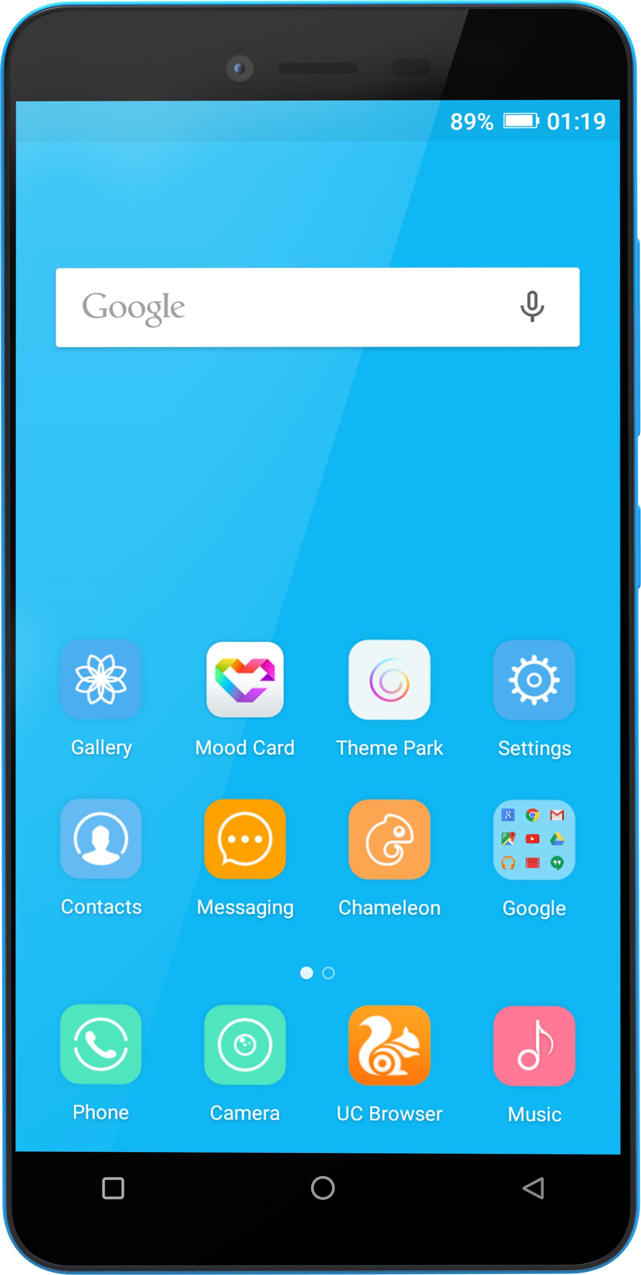 Gionee P5L (Blue, 16 GB)(1 GB RAM)