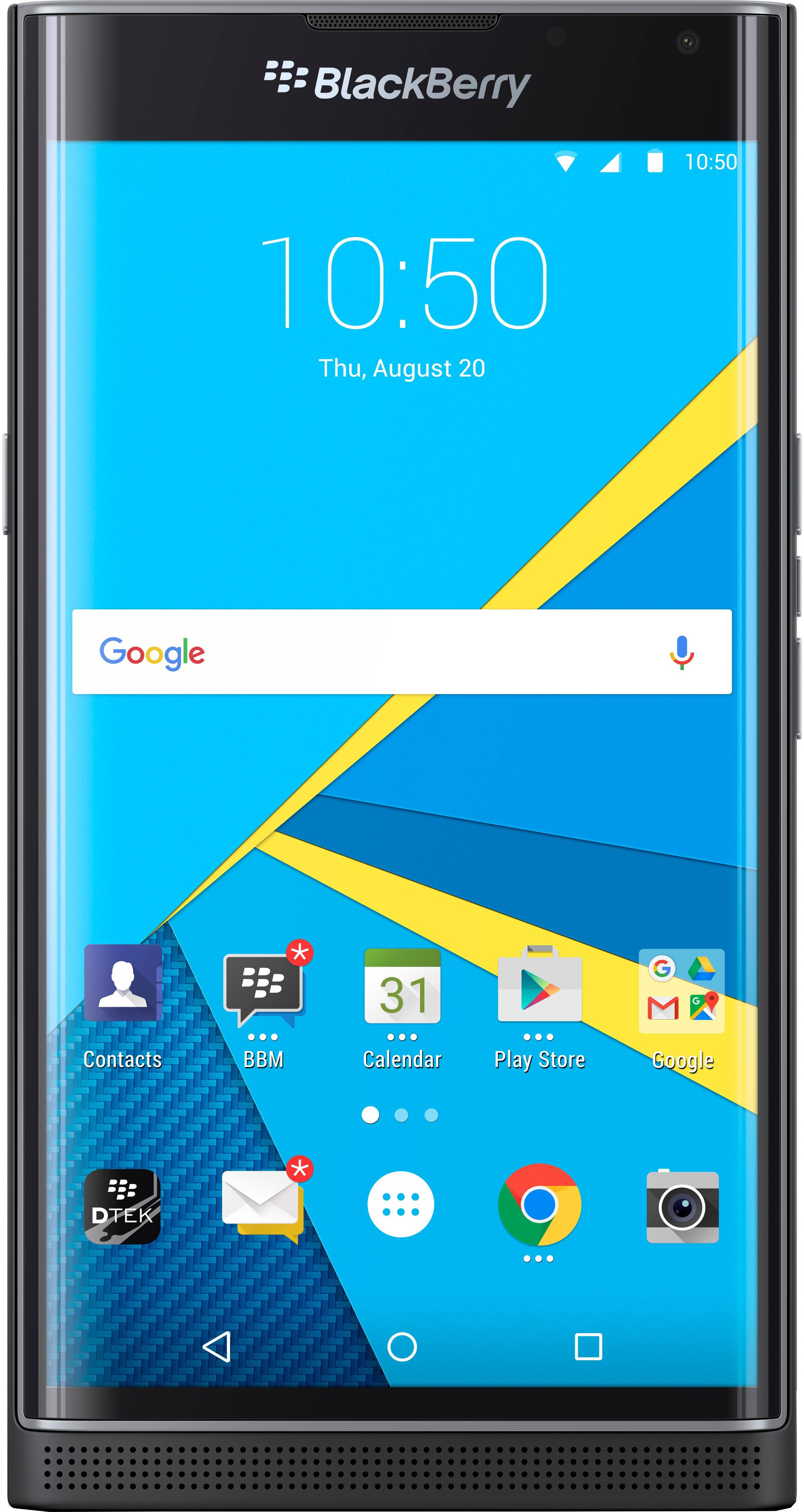 View Blackberry Priv (Black, 32 GB)(3 GB RAM) Mobile Price Online(BlackBerry)