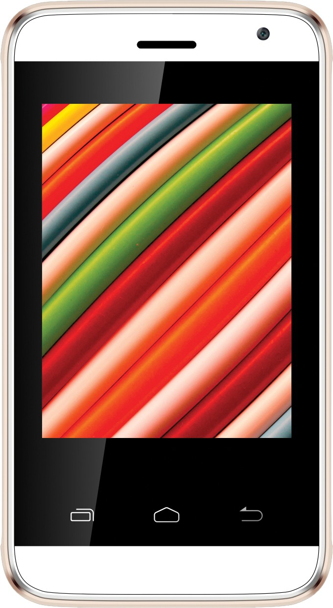 Intex Aqua G2 (White & Champagne, 512 MB)