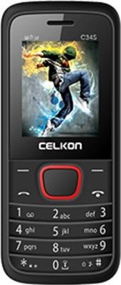 Celkon C345(BLACK+RED)