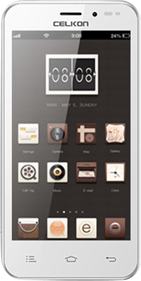 Celkon Q450 (White, 4 GB)(512 MB RAM)