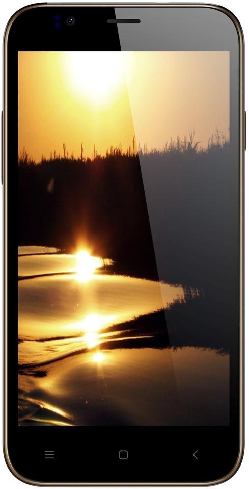 Karbonn Aura (Champagne Gold, 8 GB)(1 GB RAM)