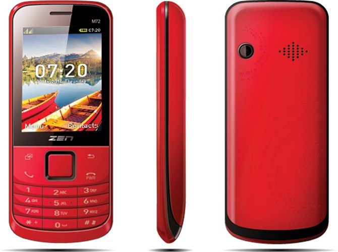 Zen M72 Slim(Red)