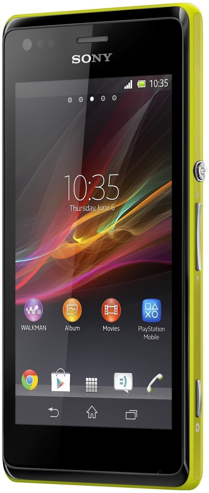 Sony Xperia M (Yellow, 4 GB)(1 GB RAM)