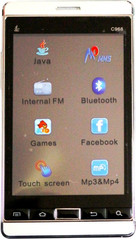 Yxtel C 968 (White, 32 KB)(32 MB RAM)