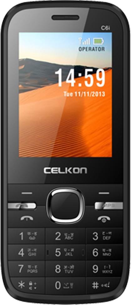 Celkon C6i(Black & Red)