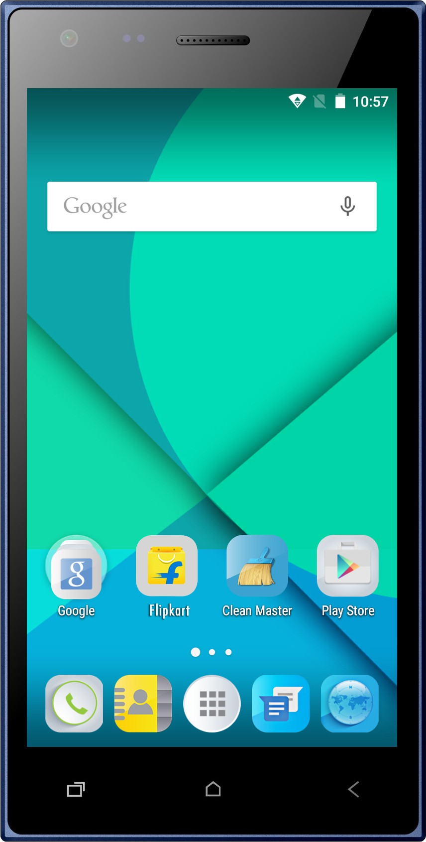 Micromax Canvas Xpress 4G (Blue, 16 GB)(2 GB RAM)