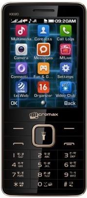 Micromax X3020 Dual Sim Black,Champagne (Black, Champagne, 45 MB)(256 MB RAM)