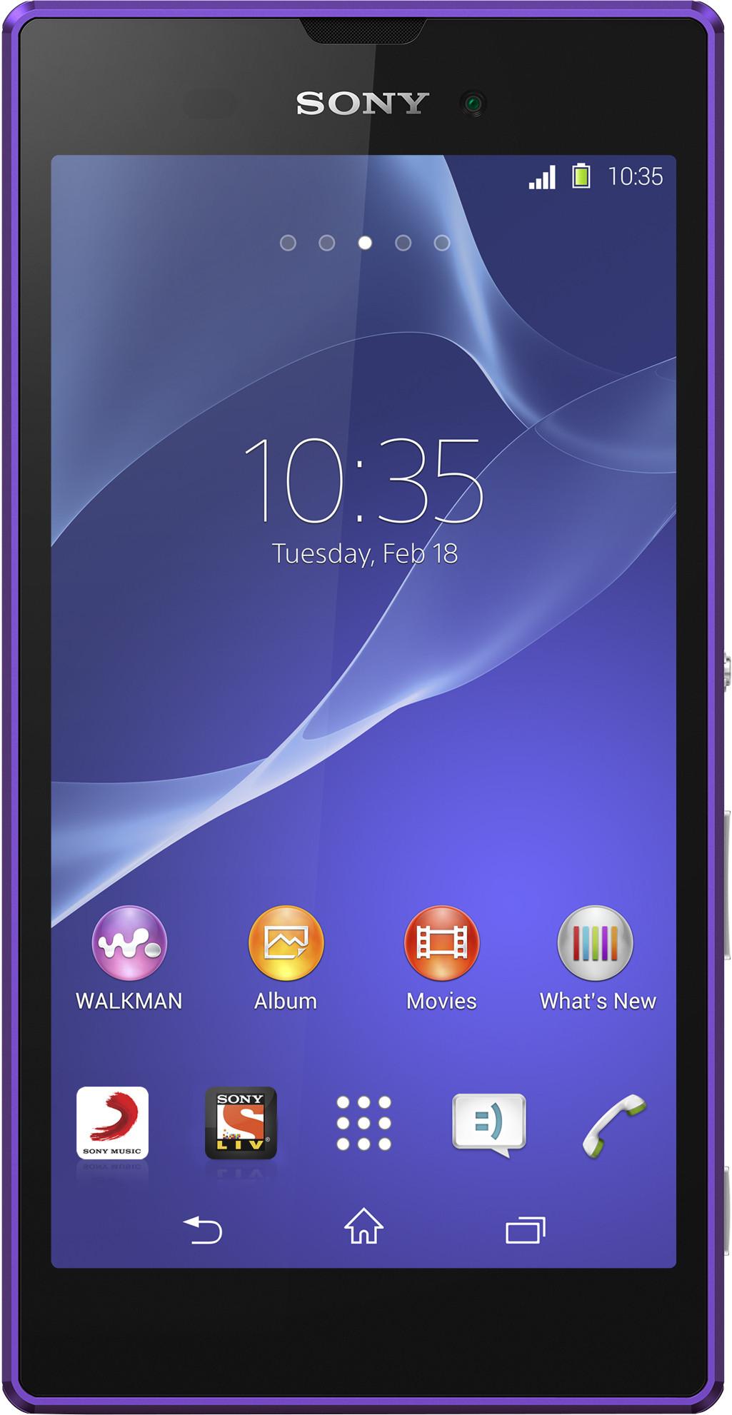 Sony Xperia T3 (Purple, 8 GB)(1 GB RAM)