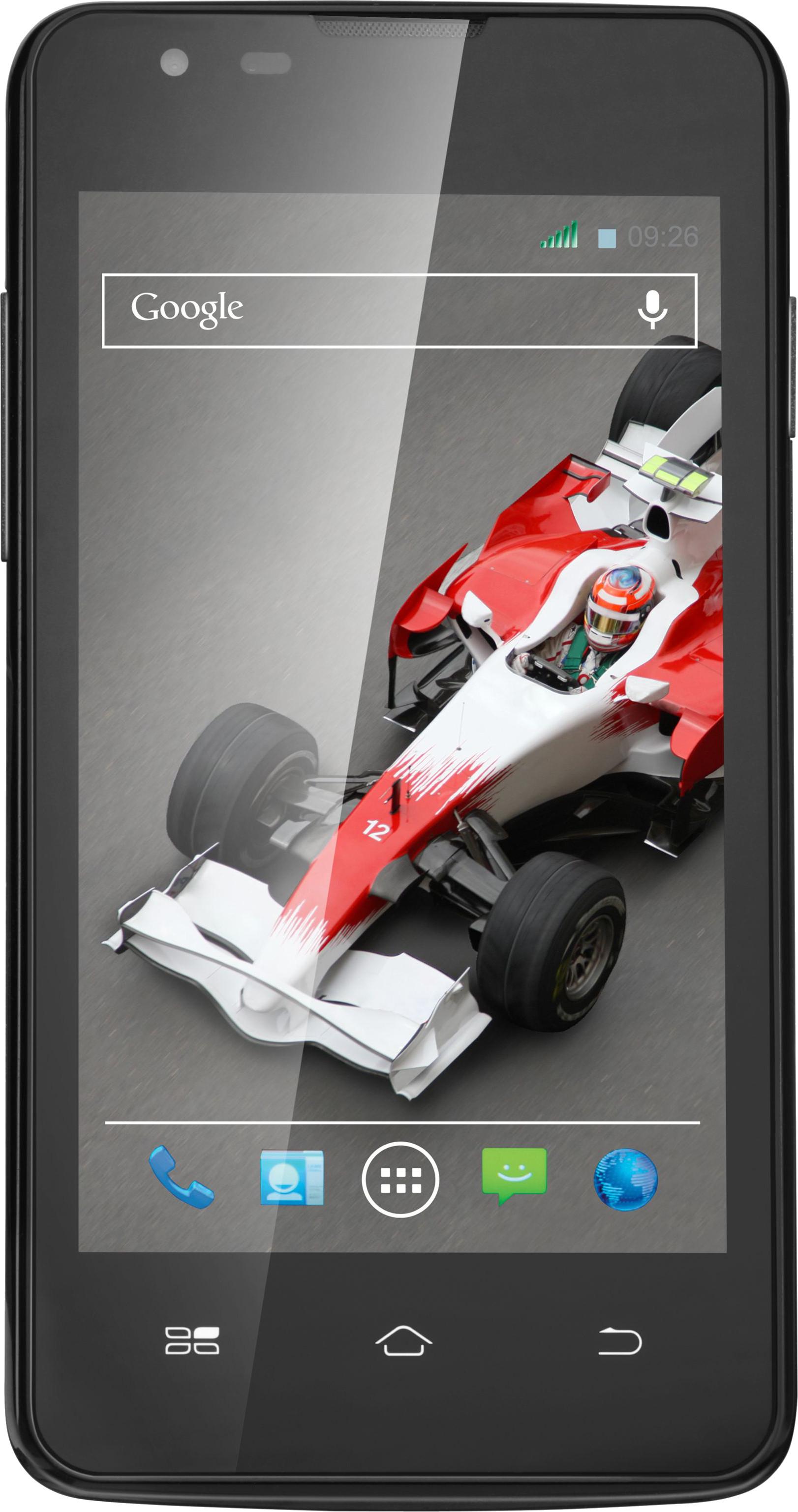 XOLO A500L (Black, 4 GB)(512 MB RAM)