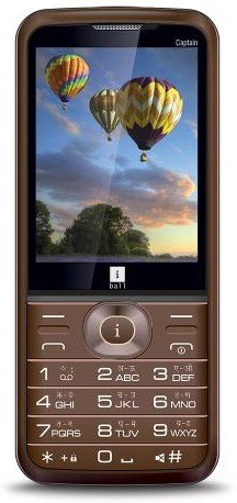 iBall Captain 2.8G(Brown, Gold)