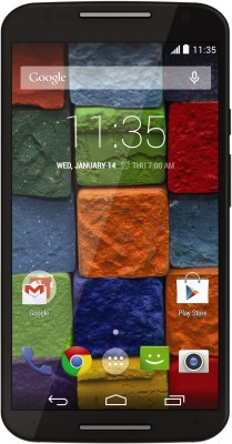 Moto X (2nd Generation) (Black, 16 GB) Black