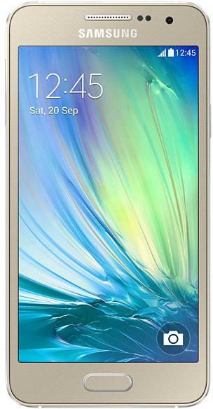 SAMSUNG Galaxy A3 (Champagne Gold, 16 GB)(1 GB RAM)