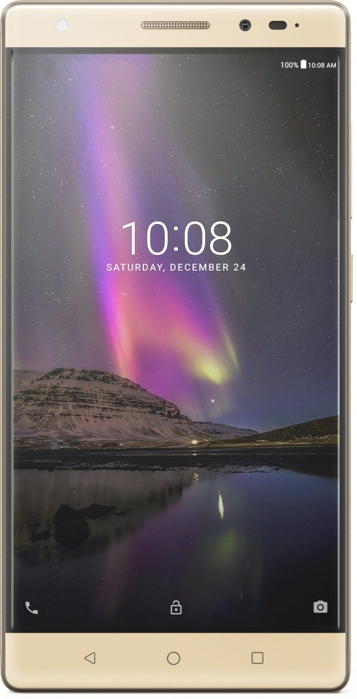 Lenovo Phab 2 Pro 64 GB 6.4 inch with Wi-Fi+4G(Champagne Gold)