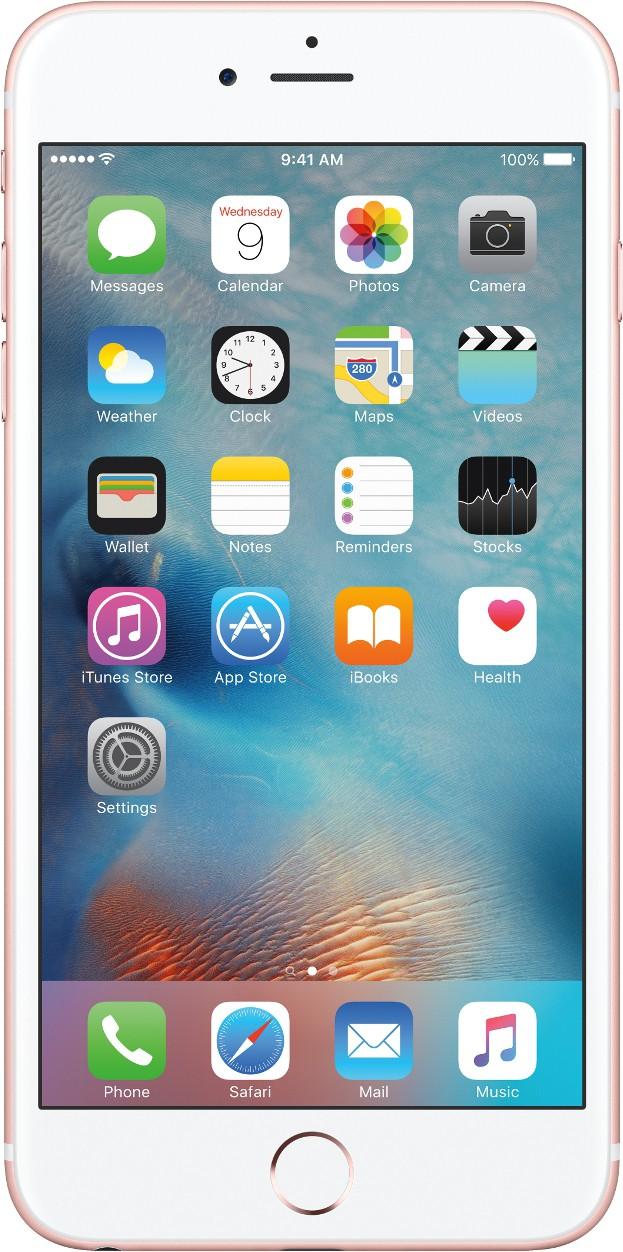 Apple iPhone 6s Plus (Rose Gold, 128 GB)(2 GB RAM)