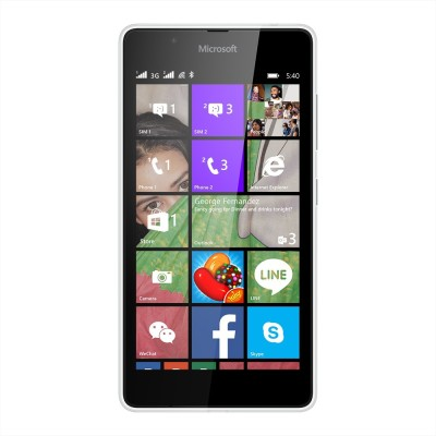 Microsoft Lumia 540 (White, 8 GB)