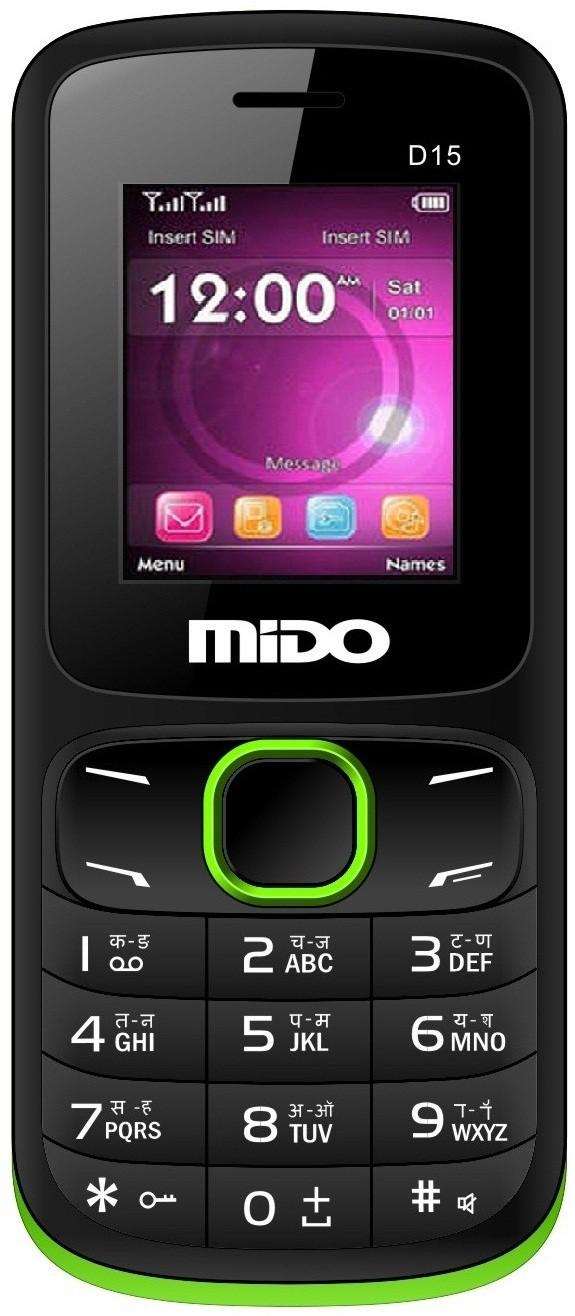 Mido D15(Black & Green)