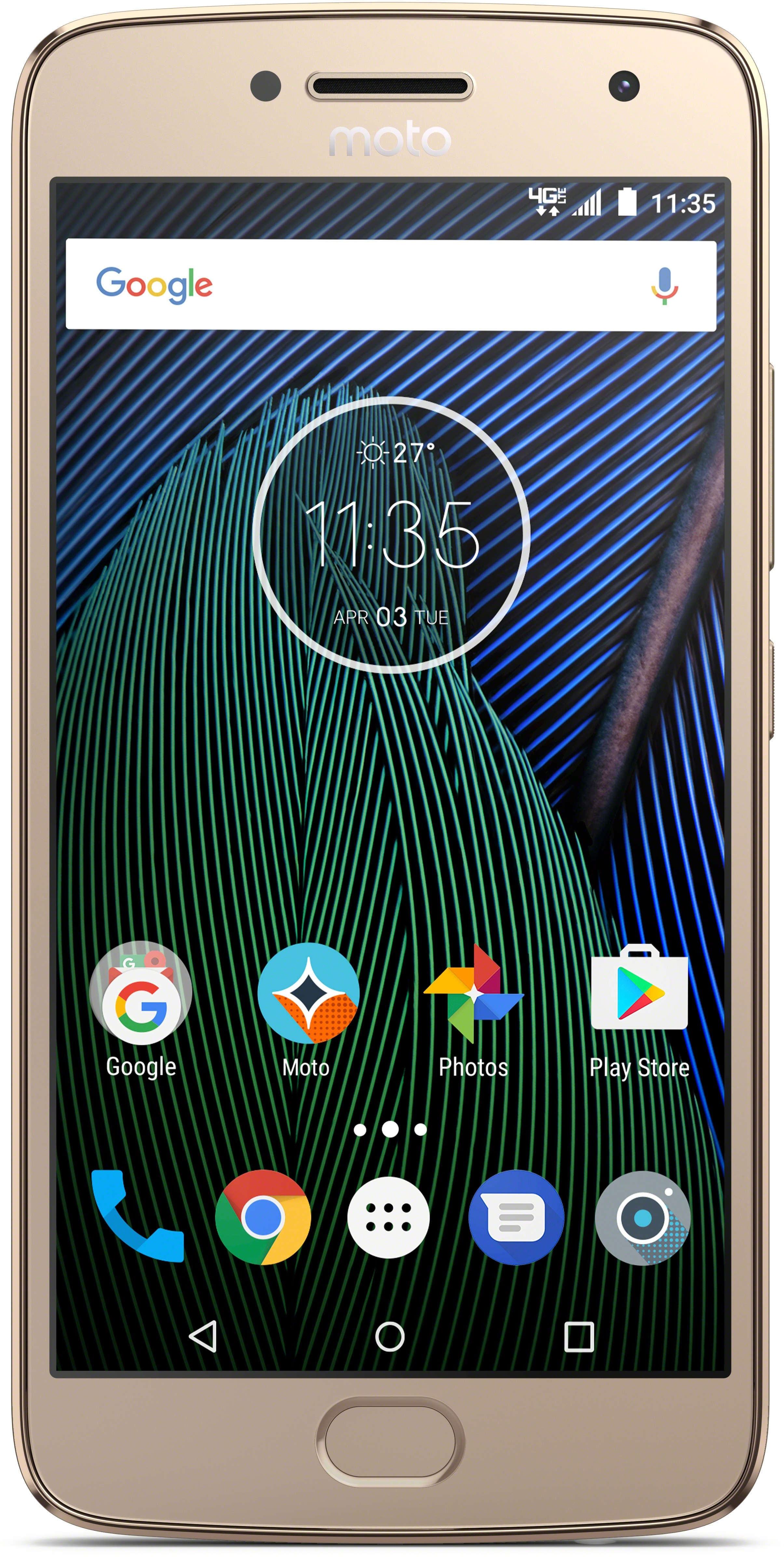 View Moto G5 Plus (Gold, 32 GB)(4 GB RAM) Mobile Price Online(Motorola)