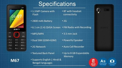 Zen m67 powerful speaker