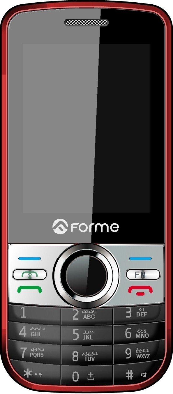 Forme L900(White & Red)