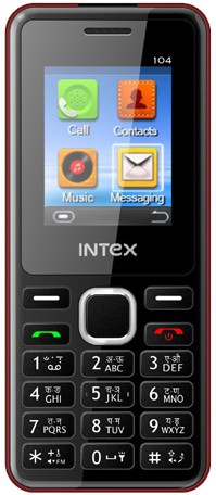 Intex Nano 104(Red)