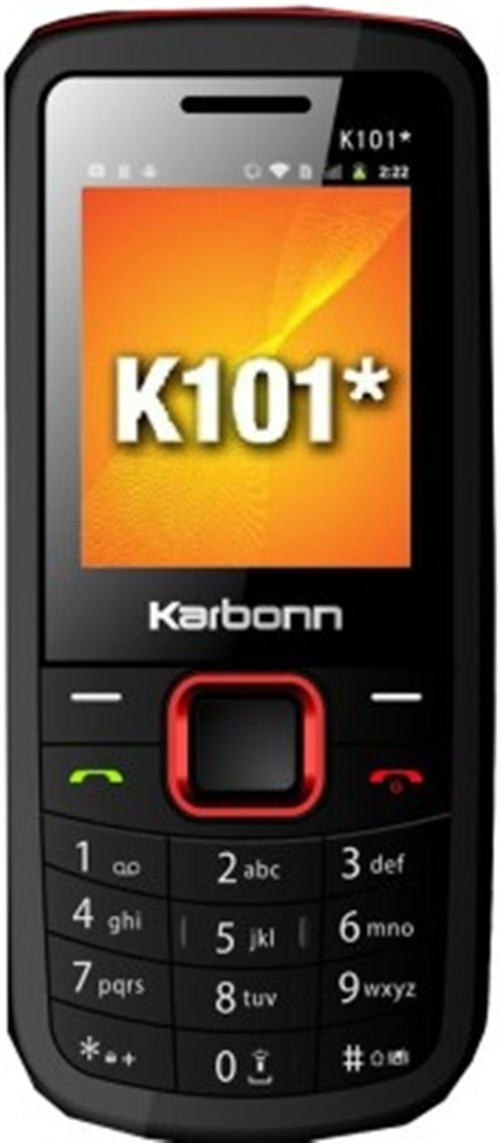 Karbonn k101 star(black+yellow)