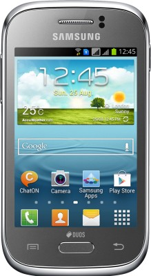 SAMSUNG Galaxy Young (Metallic Silver, 4 GB)