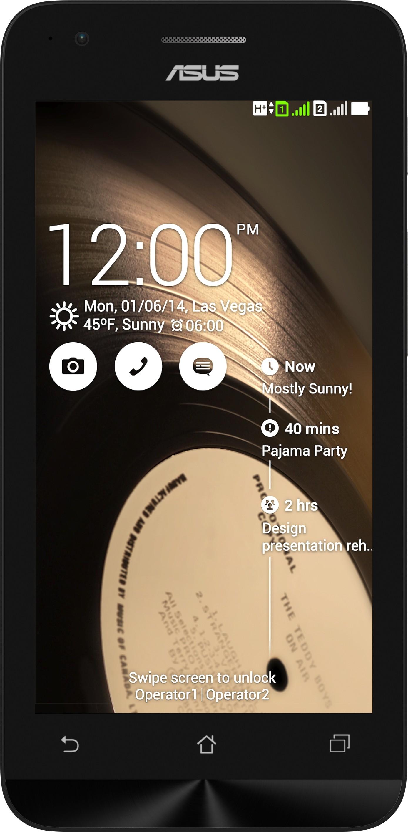 Asus Zenfone C (1GB RAM, 8GB)