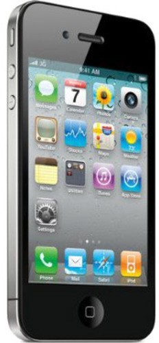 Apple iphone 4s (Black, 16 GB)(512 MB RAM)