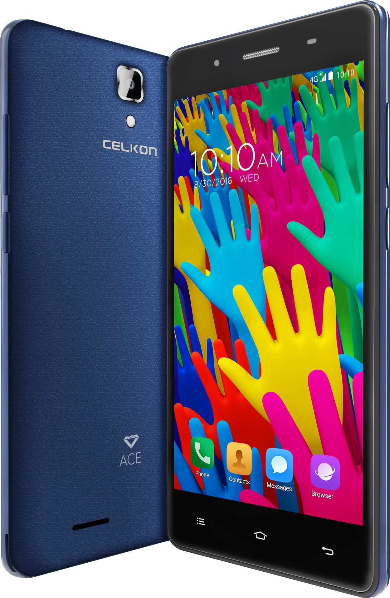 View Celkon DIAMOND ACE DARKBLUE (Dark Blue, 8 GB)(1 GB RAM)  Price Online