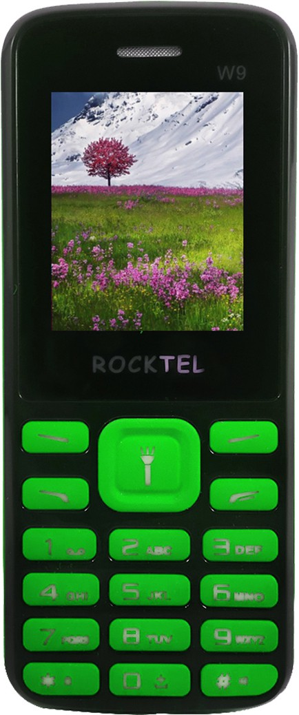 Rocktel W9(Black & Green)