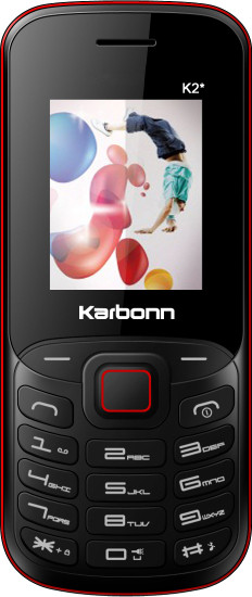 Karbonn K2 Star(Black and Red)