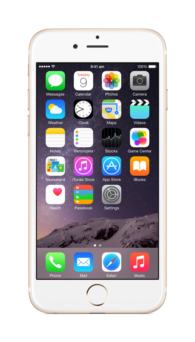 Apple iPhone 6 (Gold, 128 GB)(1 GB RAM)