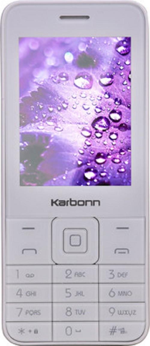 Karbonn K Phone1(White/Champagne)