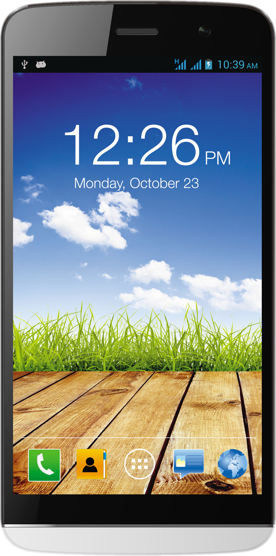 Micromax Canvas L A108 (1GB RAM, 8GB)