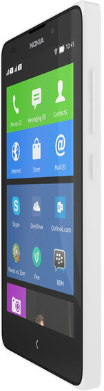 Nokia XL (White, 4 GB)(768 MB RAM)
