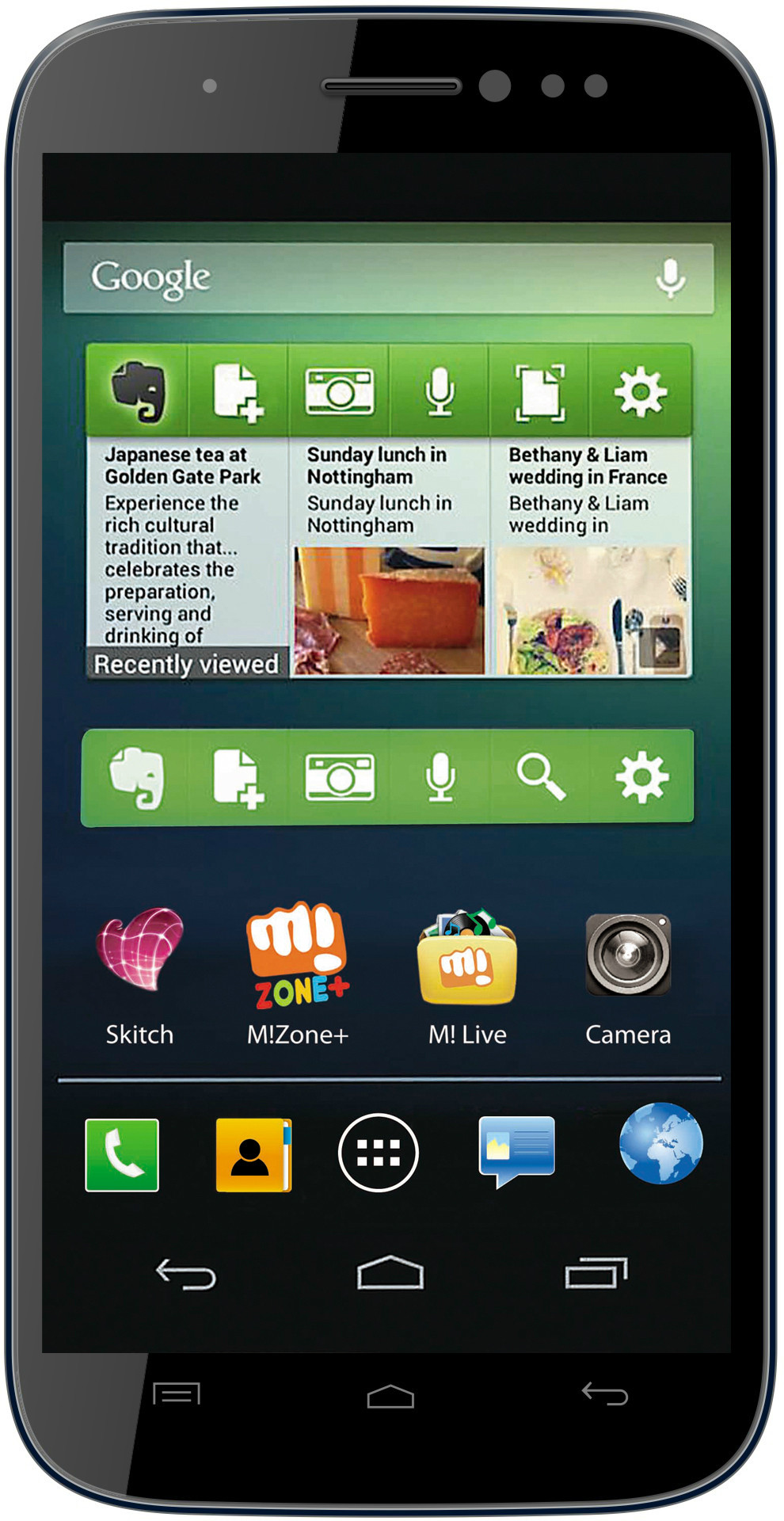 Micromax Canvas Doodle 2 (1GB RAM, 16GB)