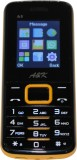 A&K Bar Phone A 3 (Black, Yellow)