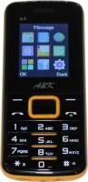 A&K Bar Phone A 3(Black, Yellow)