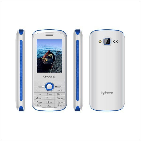 Cheers 4sim Sleek7 (Four Sim Mobile Phone)(White+Blue)