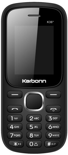 Karbonn K36 Star(Black and Red)