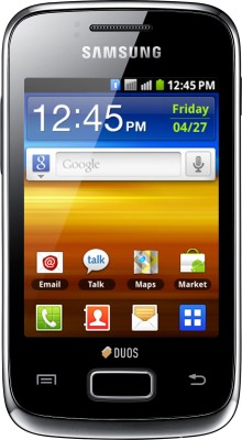 SAMSUNG Galaxy Y Duos (Strong Black, 160 MB)