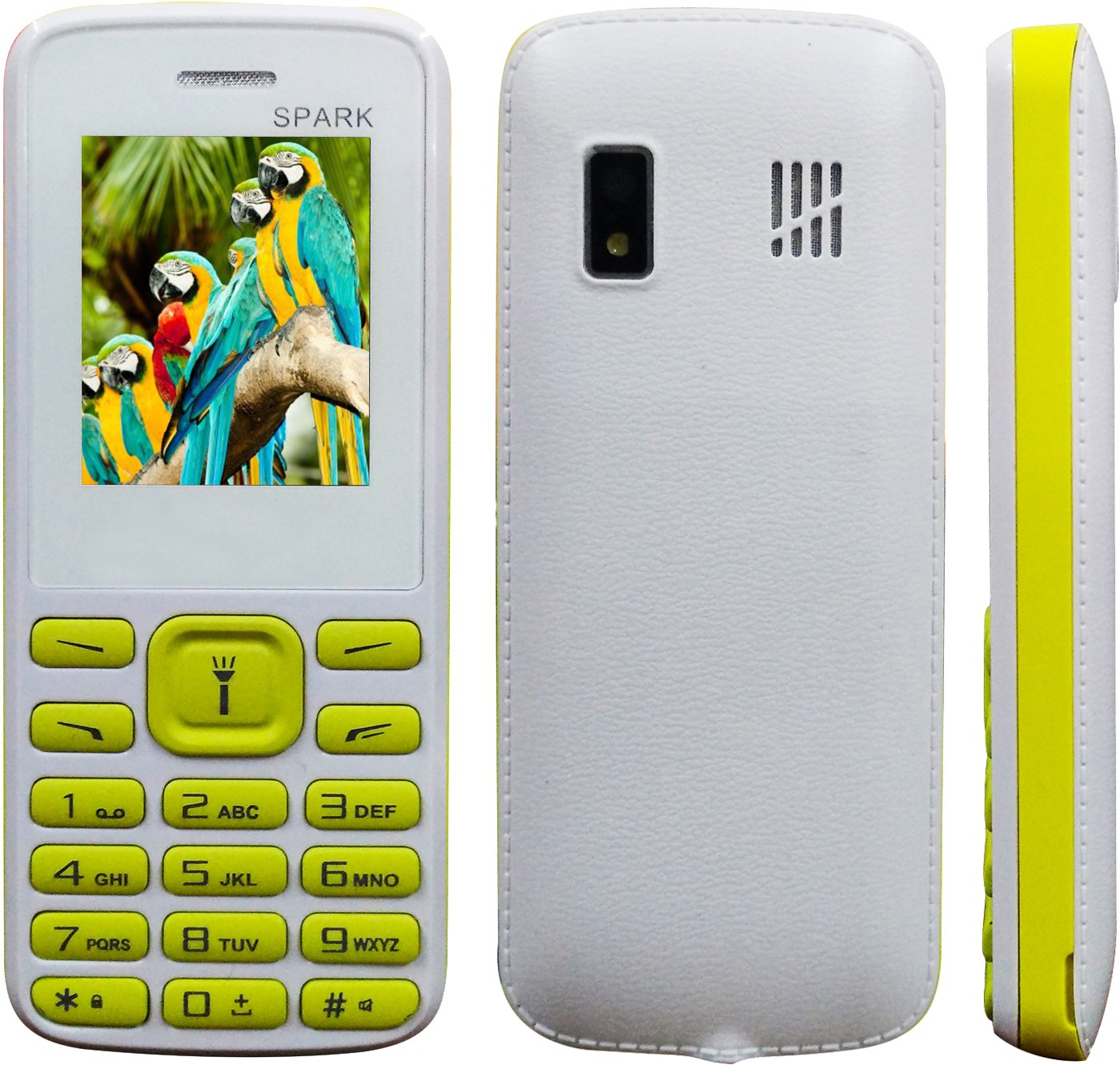 Mobi Store Spark(White and Yellow)